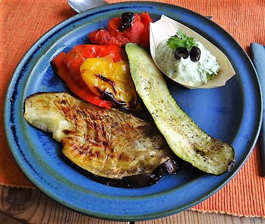 Ofengemüse,geräucherter Lachs,Bärlauch Dip (13)