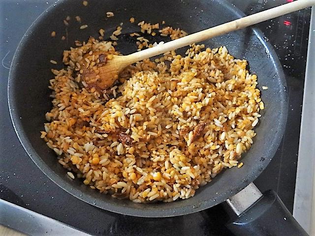 Reis mit Gemüse und Putenfleisch (17).JPG