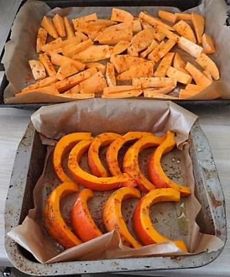 Süßkartoffeln,Kürbis,Guacamole (10)