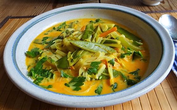 Asiatische Gemüsesuppe (13)