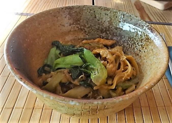 Asiatische Pfanne mit Pute und Enoki (3)