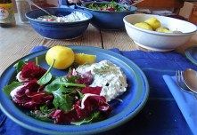Quark,Kartoffeln,Salat (13)