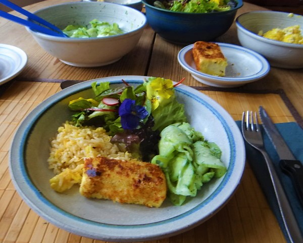 Salate und Feta (3)