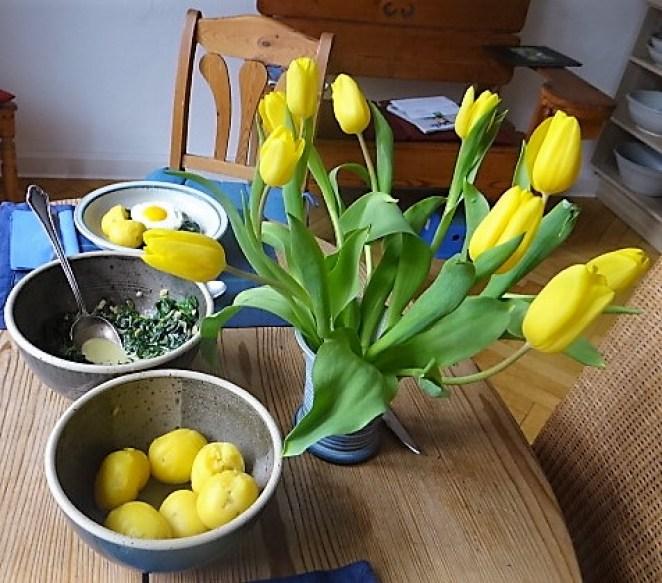 Spinat,Spiegelei,Kartoffeln (4)