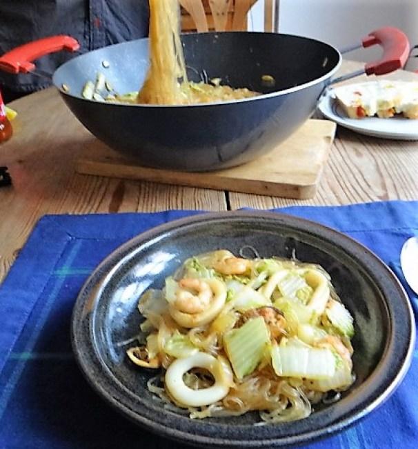 Spitzkohl mit Meeresfrüchten (3)