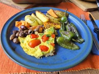 Frittata,Ofen Pommes,Pimientos (16)
