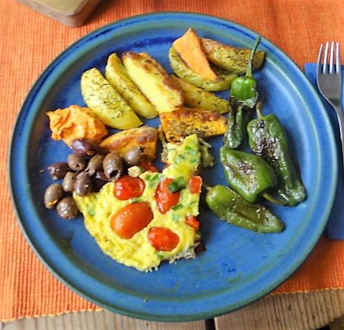 Frittata,Ofen Pommes,Pimientos (2)