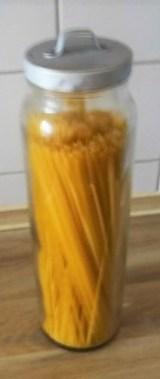 Linguine mit Wildkräuterpesto,Pimientos (11)