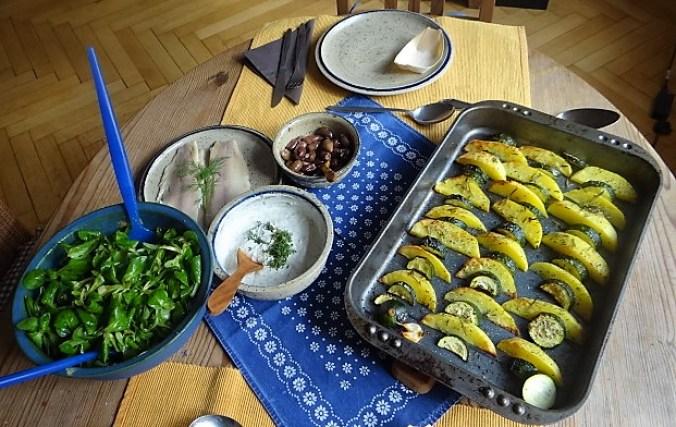 Ofen-Kartoffel-Zucchini,geräucherte Forelle (13)