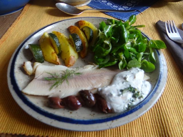 Ofen-Kartoffel-Zucchini,geräucherte Forelle (14)