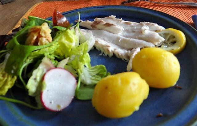 Wolfsbarsch,Salat,Kartoffeln (16)