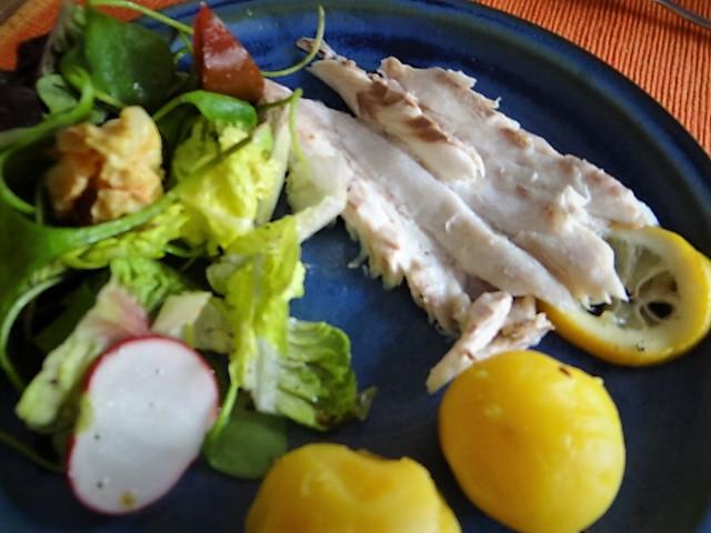 Wolfsbarsch,Salat,Kartoffeln (3)