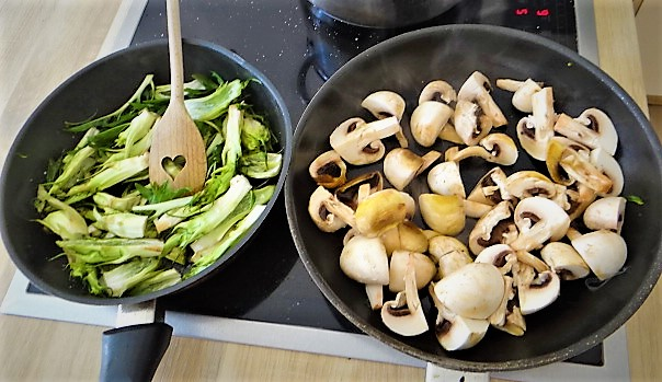 Bärlauch Gnocchis,Pilze (20)