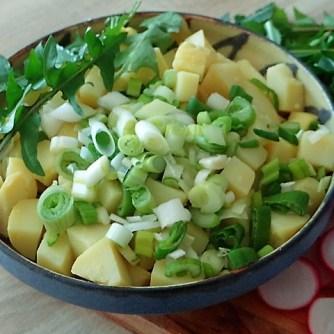 Bratkartoffel,Sprotten,Salat (8)