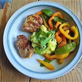 Medaillons,Kartoffelstampf,Paprika (35)