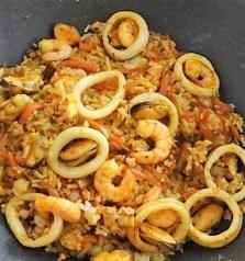 Nasi Goreng mit Meeresfrüchten,Dessert (20)