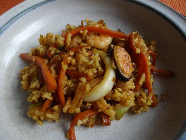 Nasi Goreng mit Meeresfrüchten,Dessert (4)