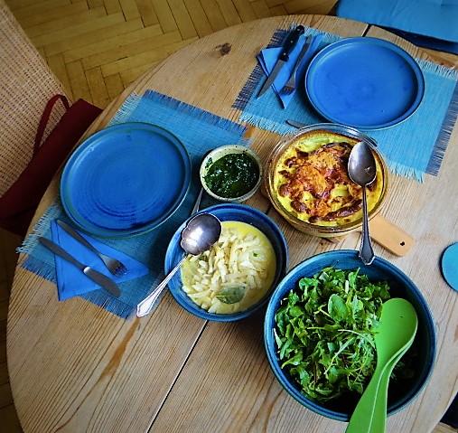 Navets,Kartoffelgratin,Salat (4)
