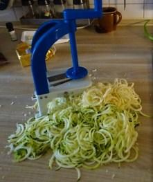 Pastinaken-Zucchini Zoodles,Spaghetti,Gorgonzolasauce (8)