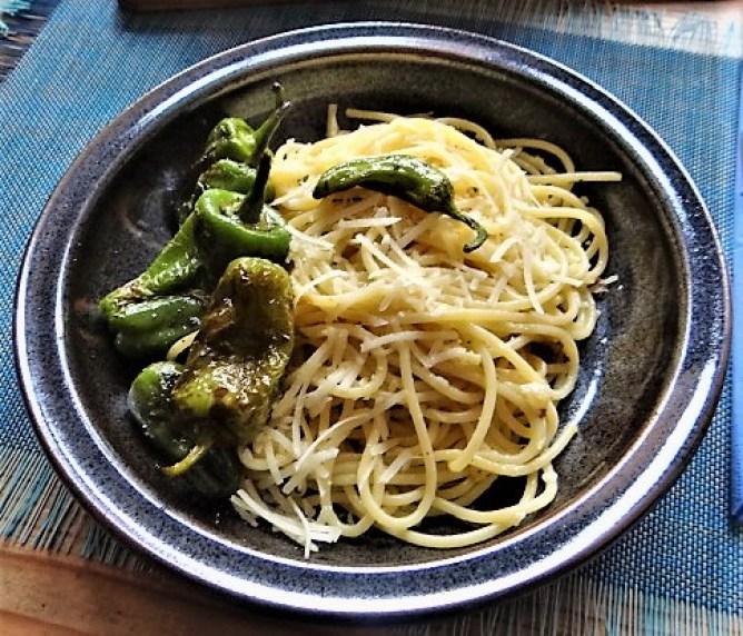 Spaghetti mit Knoblauch (1)
