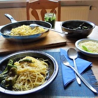 Spaghetti mit Knoblauch (17)