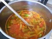 Staudensellerie Suppe mit Weißbrot (11)