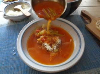 Staudensellerie Suppe mit Weißbrot (24)