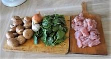 Geschnetzeltes mit Spinat und Hirse (6)