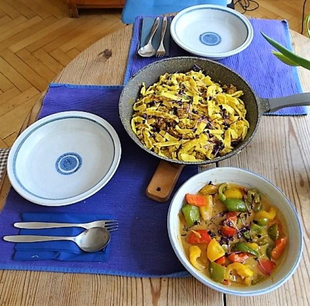 Paprika in Kokosmilch und Gewürzreis (16)