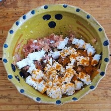 Gefüllte Zucchini mit Kartoffelauflauf (13)