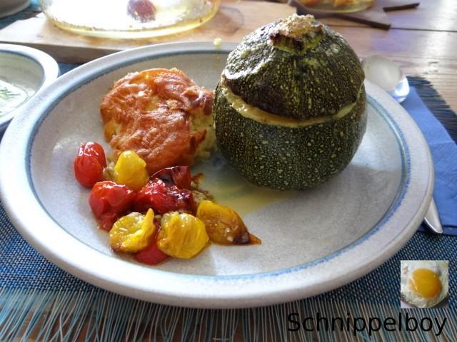 Gefüllte Zucchini mit Kartoffelauflauf (20)