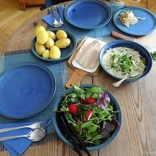 Mairübchen,geräuchertes Forellenfilet, Salat (16)