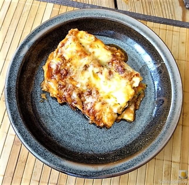 Nudel-Zucchini Lasagne (2)