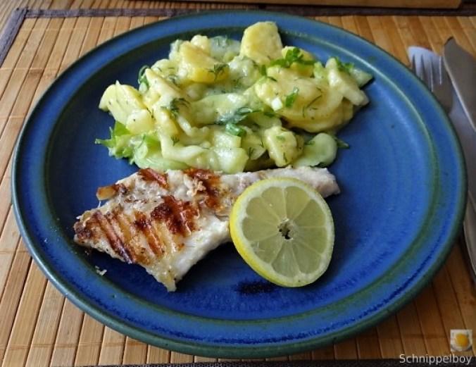 Rotbarsch,Kartoffel-Gurkensalat (16)