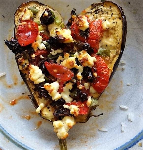 Auberginen,Tomate,Feta,Pimientos,Reis (3)