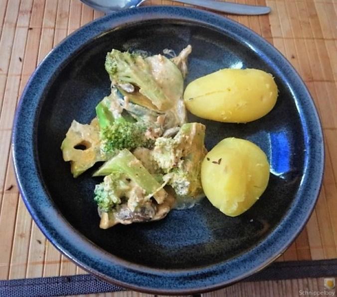 Brokkoli,Zucchini,Pilze in Labneh (14)