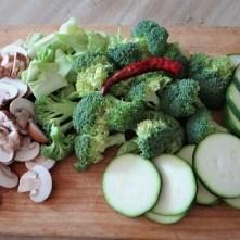 Brokkoli,Zucchini,Pilze in Labneh (7)