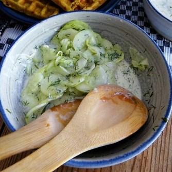 Käse_Schinkenwaffel mit Joghurt-Zitronen-Dill Dip (16)
