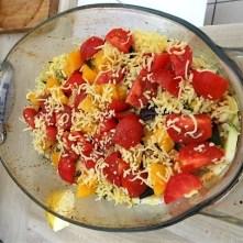 Polenta mit Babyspinat und Tomaten (19)