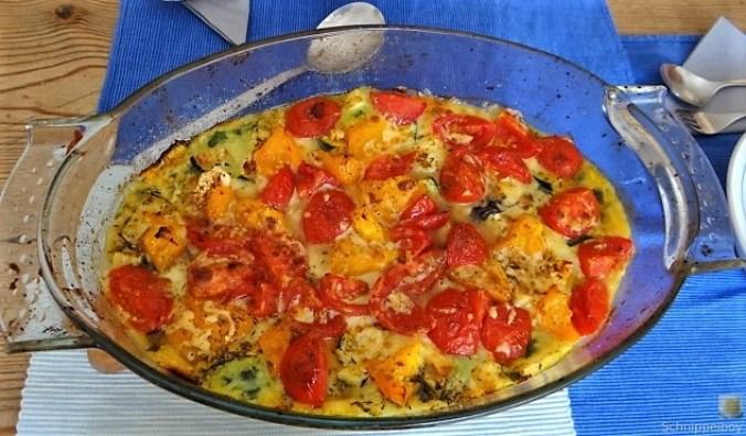 Polenta mit Babyspinat und Tomaten (20)