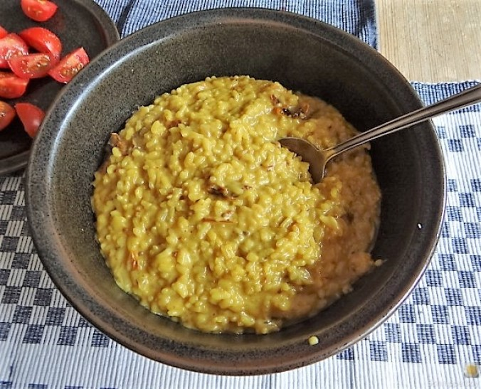 Safran-Tomaten Risotto (10)