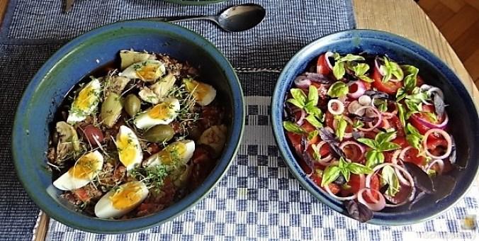 Thunfisch-Eiersalat mit Kartoffelrosen (4)