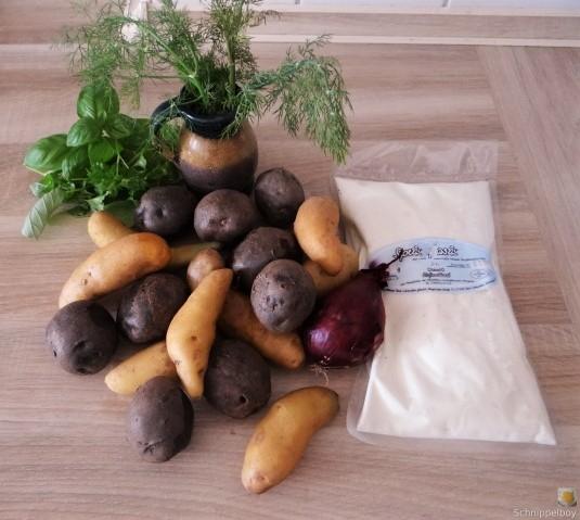 Handgemachter Quark mit Kartoffeln (3)