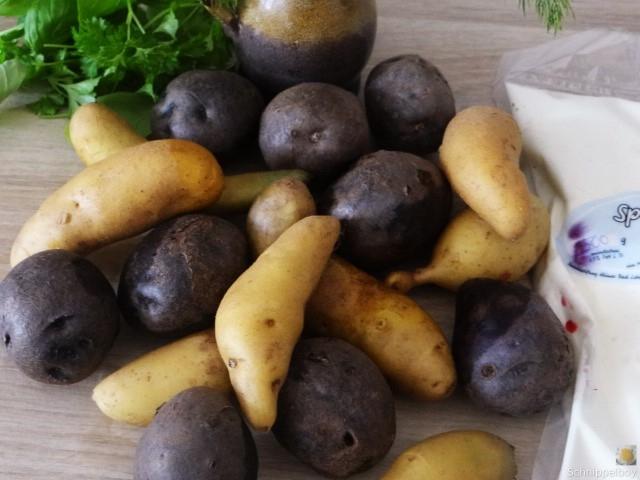 Handgemachter Quark mit Kartoffeln (4)