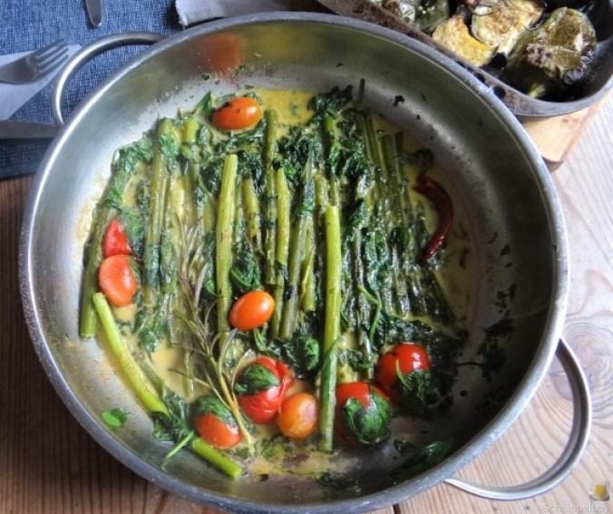 Knoblauchgrün,Gemüse,Kritharaki (17)