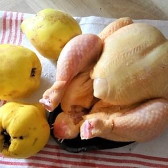 Maishähnchen mit Quitten (8)