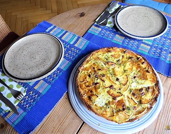 Fenchel-Apfel Tarte (6)