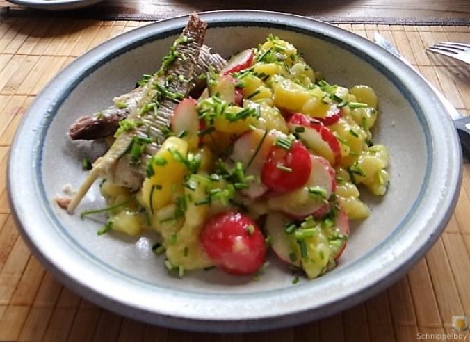 Kartoffelsalat und Makrele (17)
