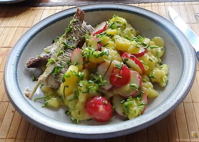 Kartoffelsalat und Makrele (2)