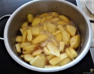 Risotto mit Safran, Salzzitrone und Spinat (26)
